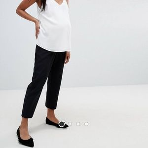 NWT ASOS Maternity ankle grazer pants